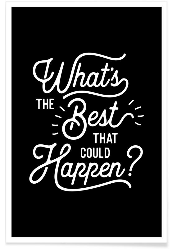 What's the Best that Could Happen affiche