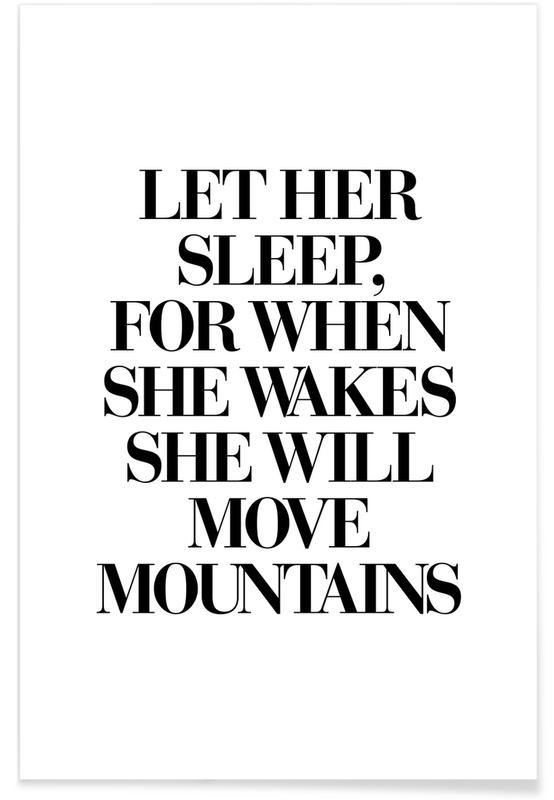 She Will Move Mountains -Poster