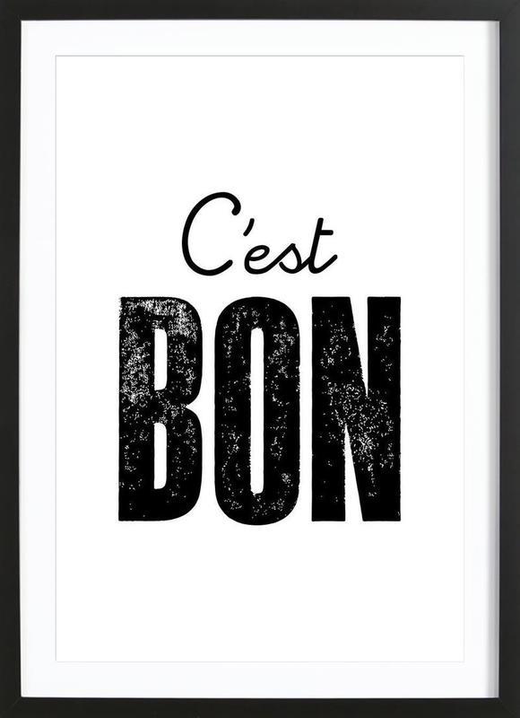 C'est Bon Framed Print