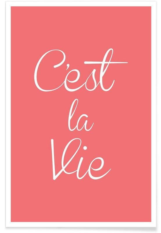Citations et slogans, C'est La Vie affiche