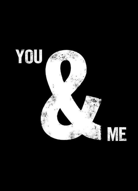You and Me toile