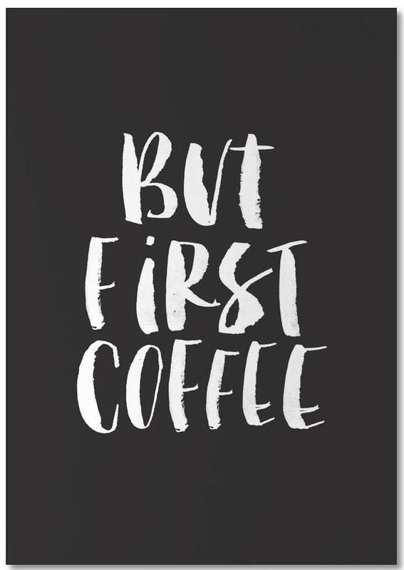 But First Coffee -Notizblock