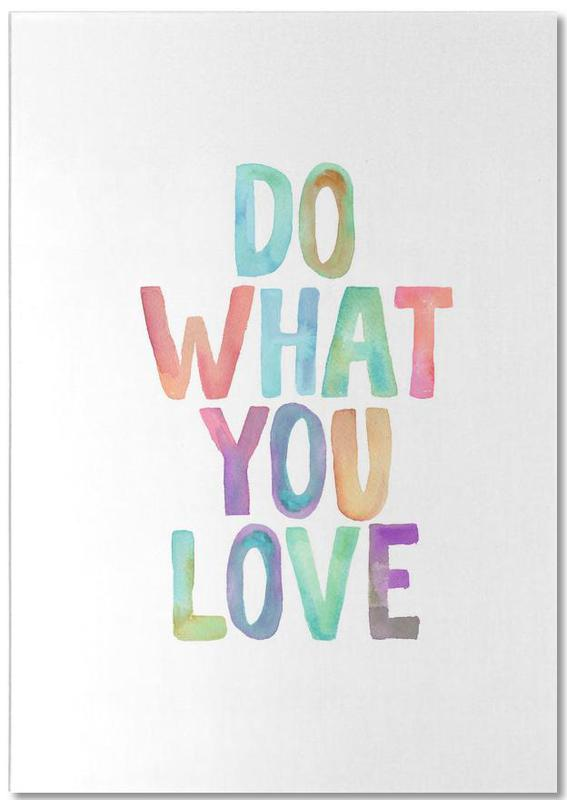 Do What You Love Notepad