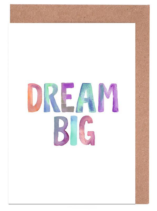 Dream Big -Grußkarten-Set
