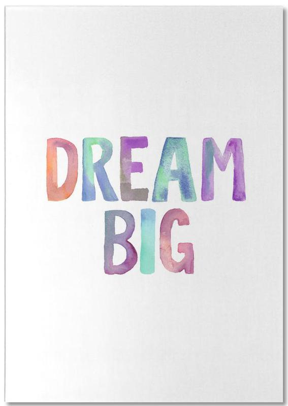 Dream Big -Notizblock