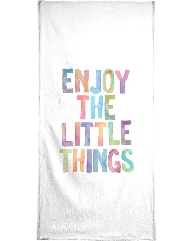 Enjoy The Little Things Bath Towel