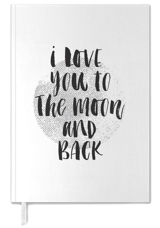 I Love You To The Moon And Back Personal Planner