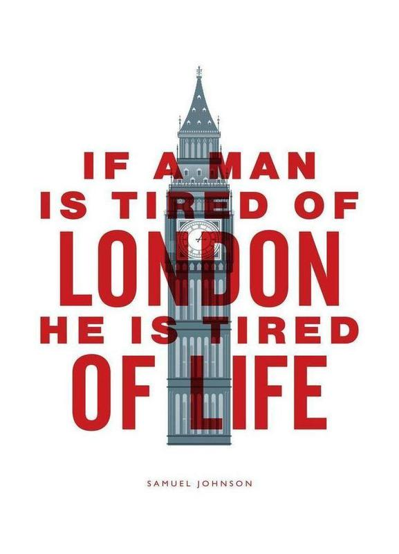 If A Man Is Tired Of London Canvas Print