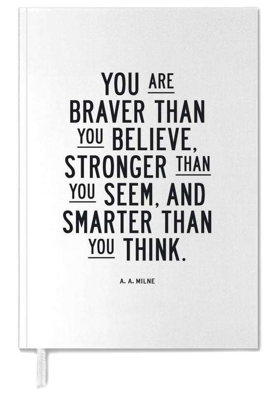 You Are Braver Than You Believe Personal Planner
