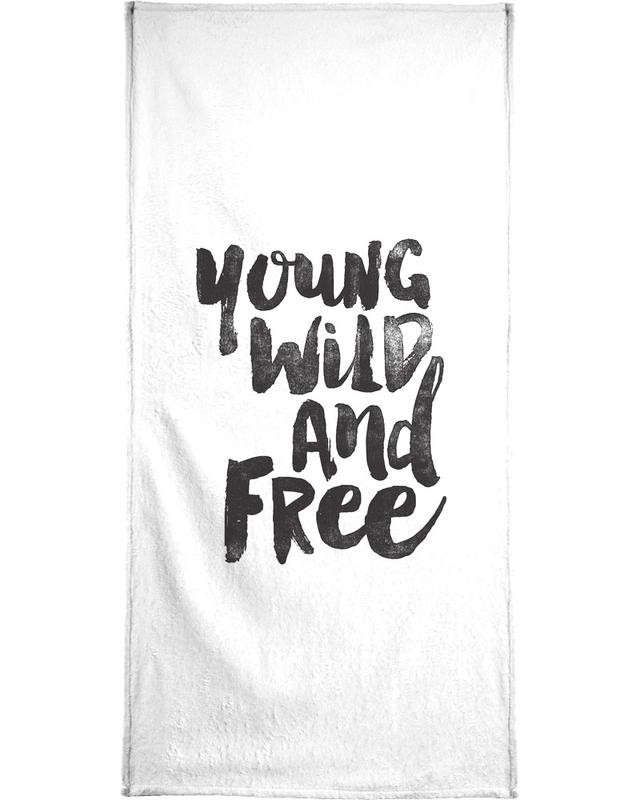 Young Wild And Free -Handtuch