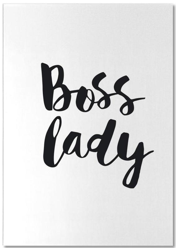 Boss Lady bloc-notes