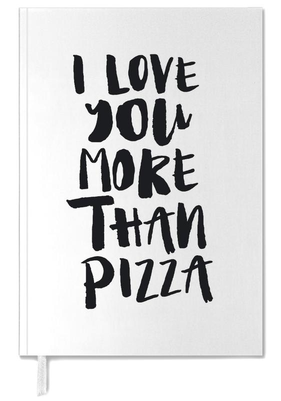I Love You More Than Pizza Personal Planner