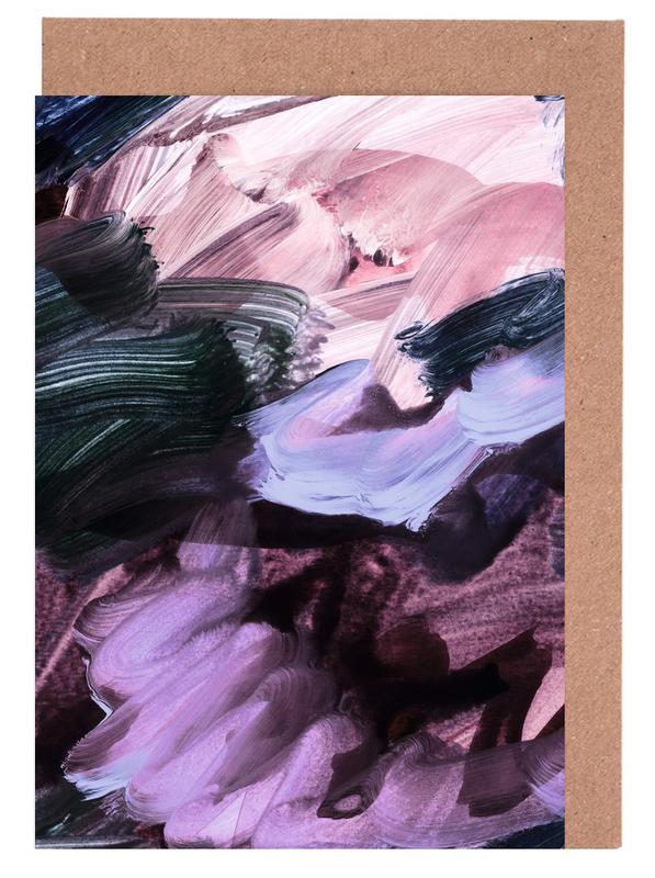 Abstract Painting VII Greeting Card Set
