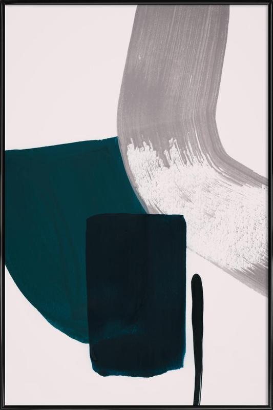 Minimalist Painting 02 ingelijste poster