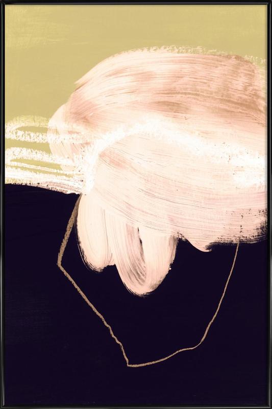 Untitled 160318 -Bild mit Kunststoffrahmen