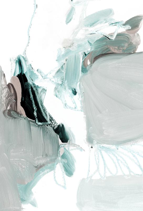 Abstract Painting XX alu dibond