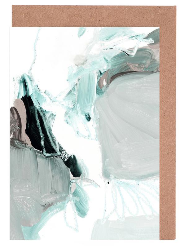 Abstract Painting XX -Grußkarten-Set