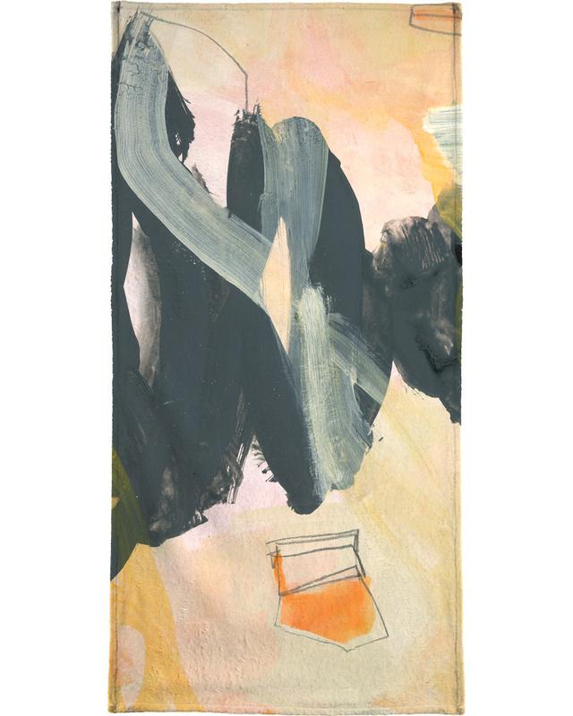 Abstract Painting IV Bath Towel