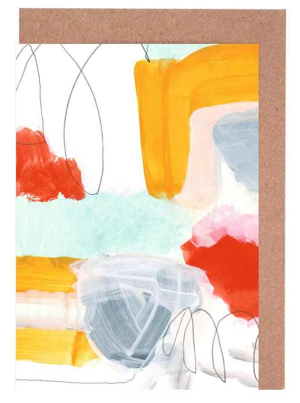 Abstract Painting XVI Greeting Card Set