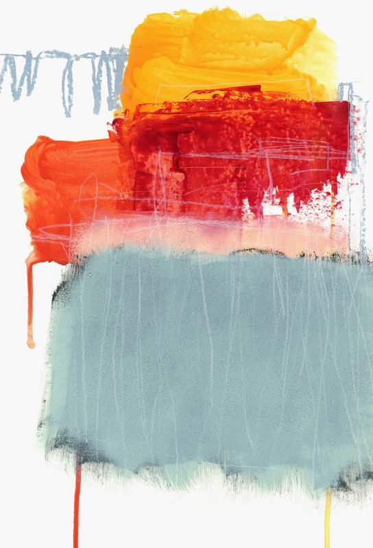 Layered Color 2 -Alubild