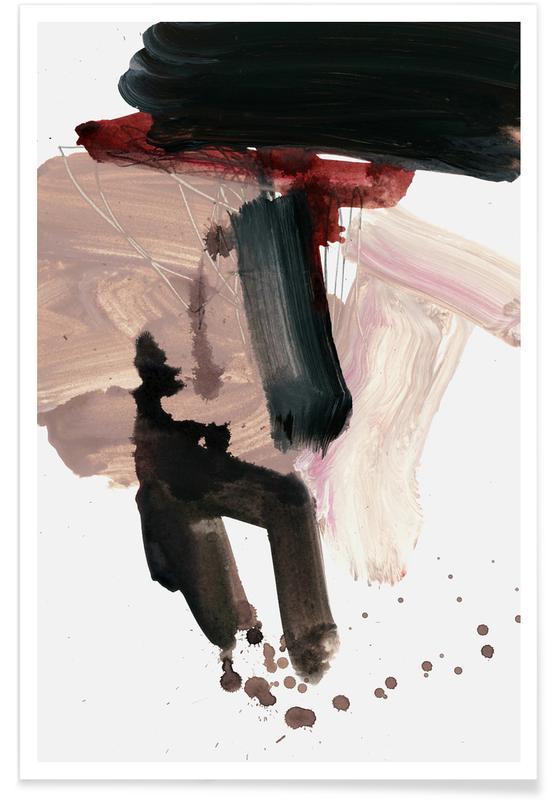 Gestural Brushstrokes 02 -Poster