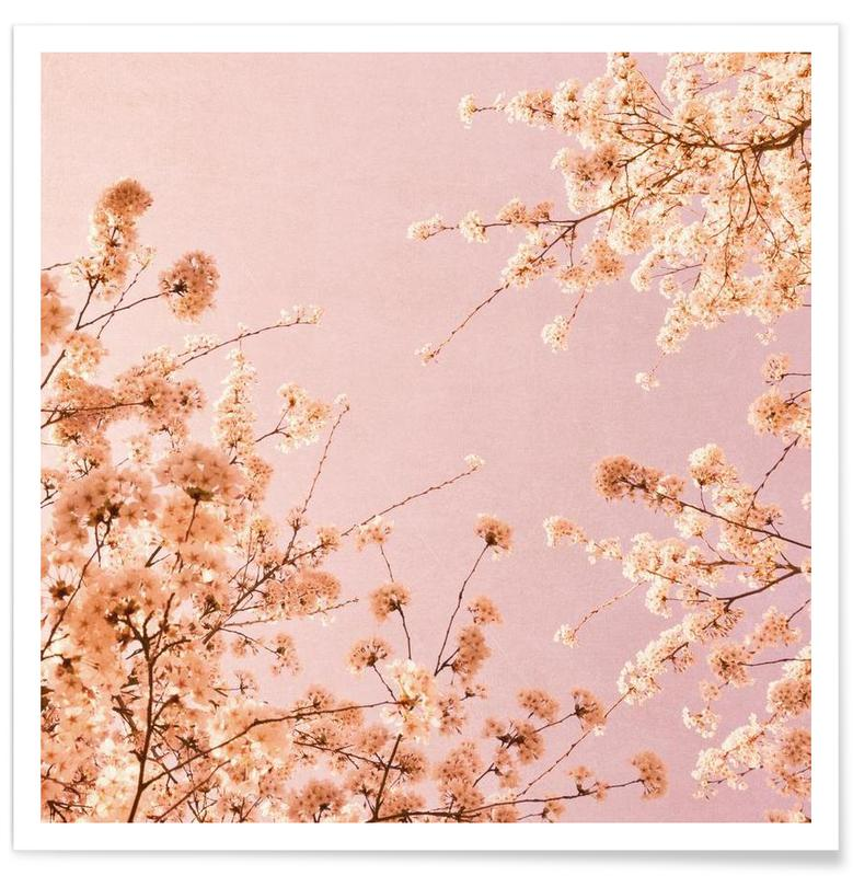 Spring Delight Pink Poster