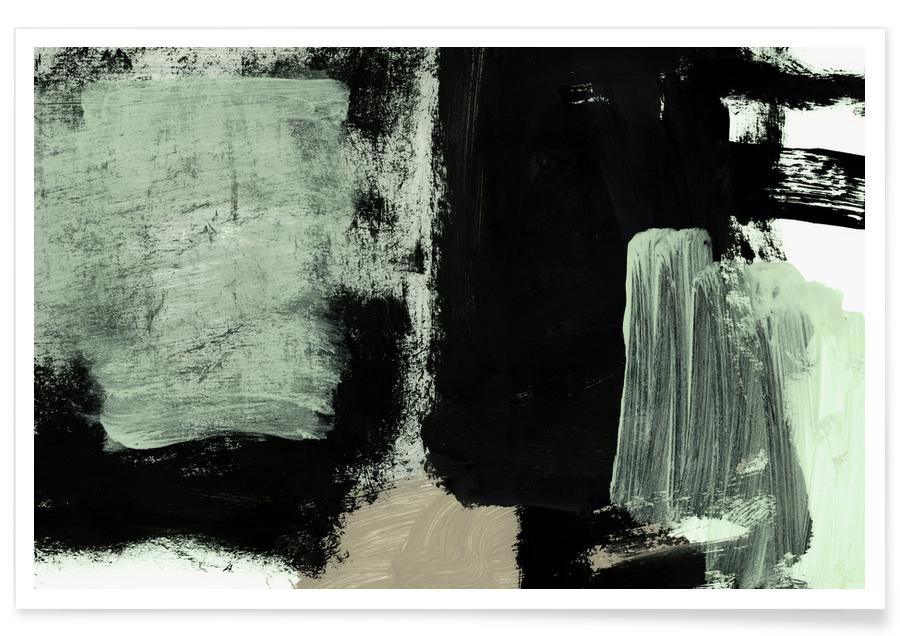 Paysages abstraits, Abstract Painting XXII affiche