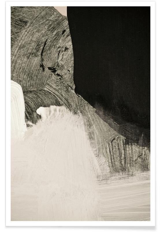 Paysages abstraits, Minimalist Painting 05 01 affiche