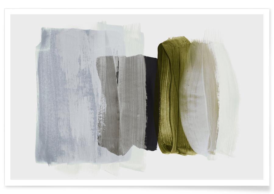 Abstrakte Landschaften, Minimalism 12 -Poster