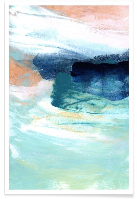 , Brushstrokes 14 Poster