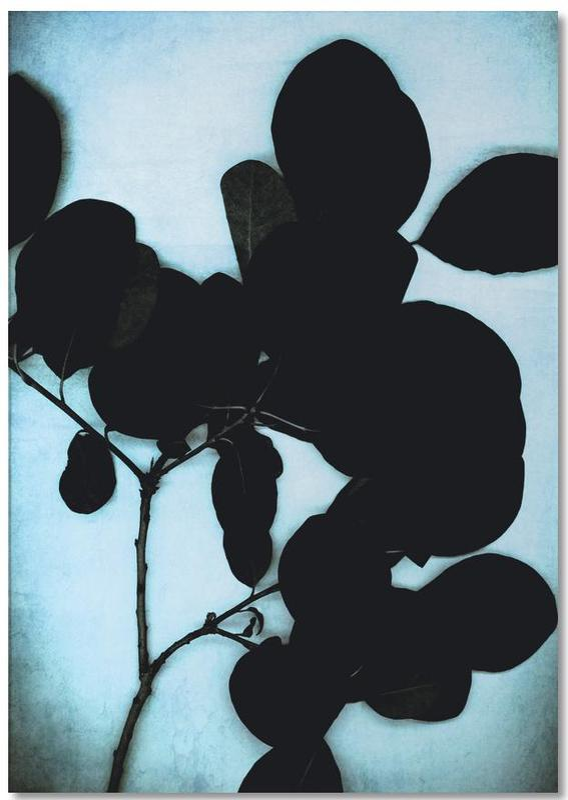 Black On Cyan Notepad
