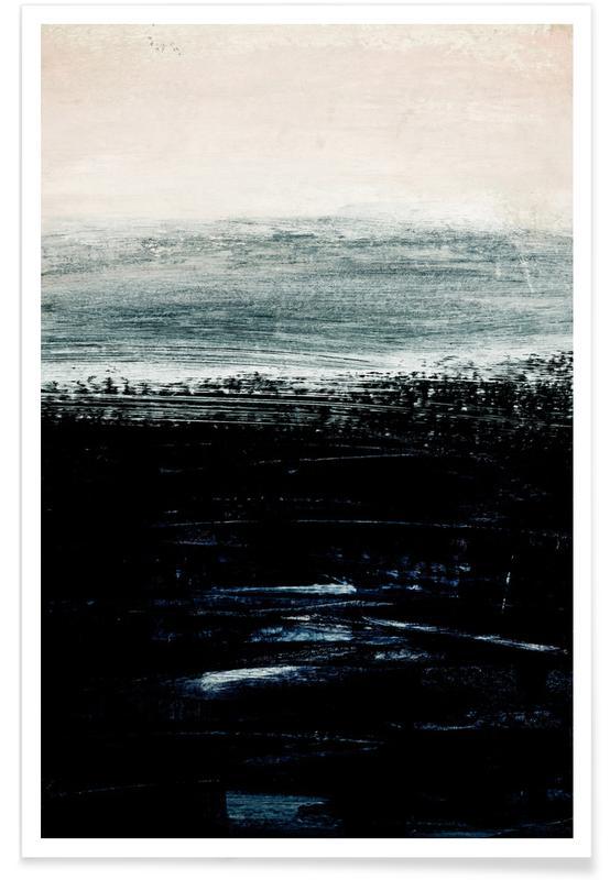 Minimalist Landscape 3 Poster