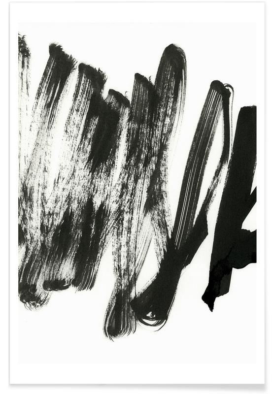 Schwarz & Weiß, Black On White -Poster