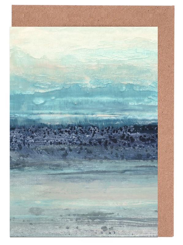 Abstrakte Landschaften, Serenity II -Grußkarten-Set