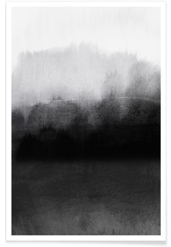 , Greyscale Landscape Poster