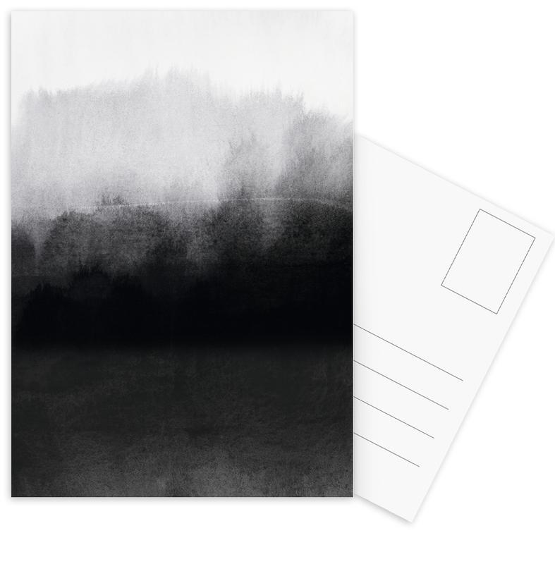 , Greyscale Landscape ansichtkaartenset