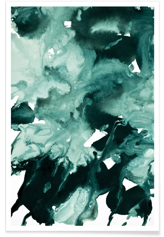 Inkblot Marble 4 poster