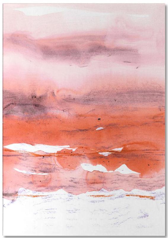 Pink and Modern Orange bloc-notes