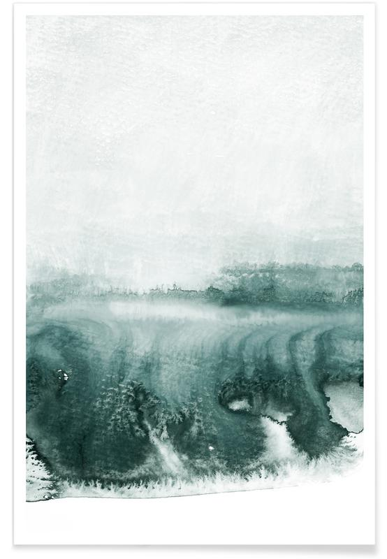 Paysages abstraits, Rainy Day affiche