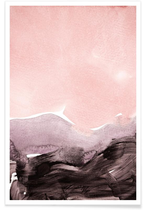 Blush & Mauve Poster