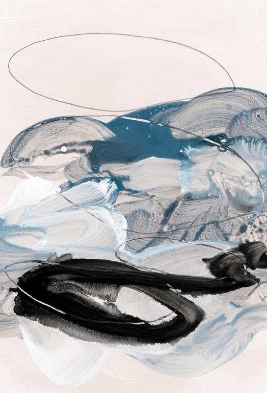 Abstract Painting IX Aluminium Print