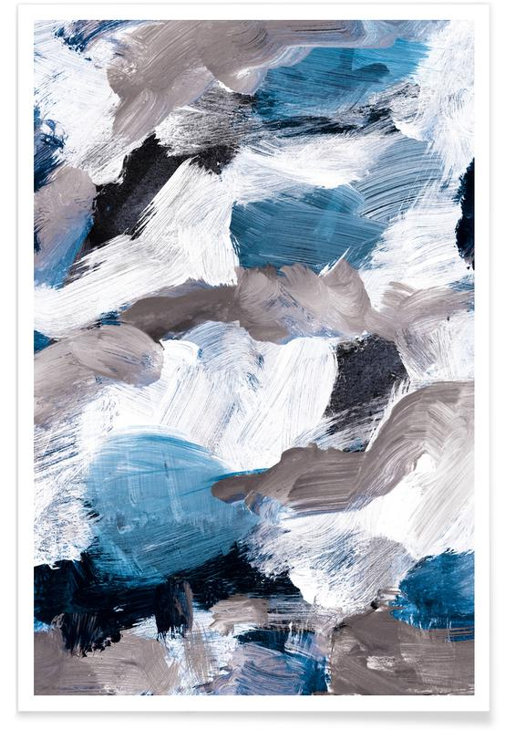 Abstract Painting VI Poster