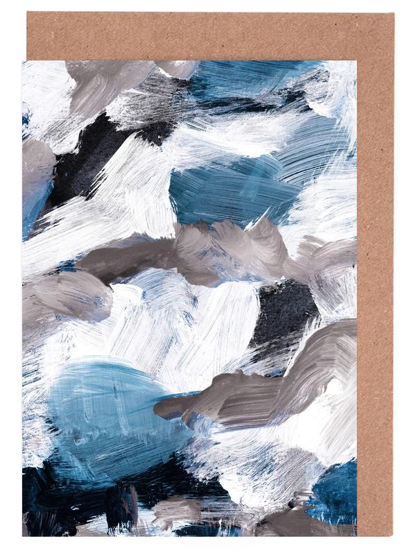 Abstract Painting VI Greeting Card Set