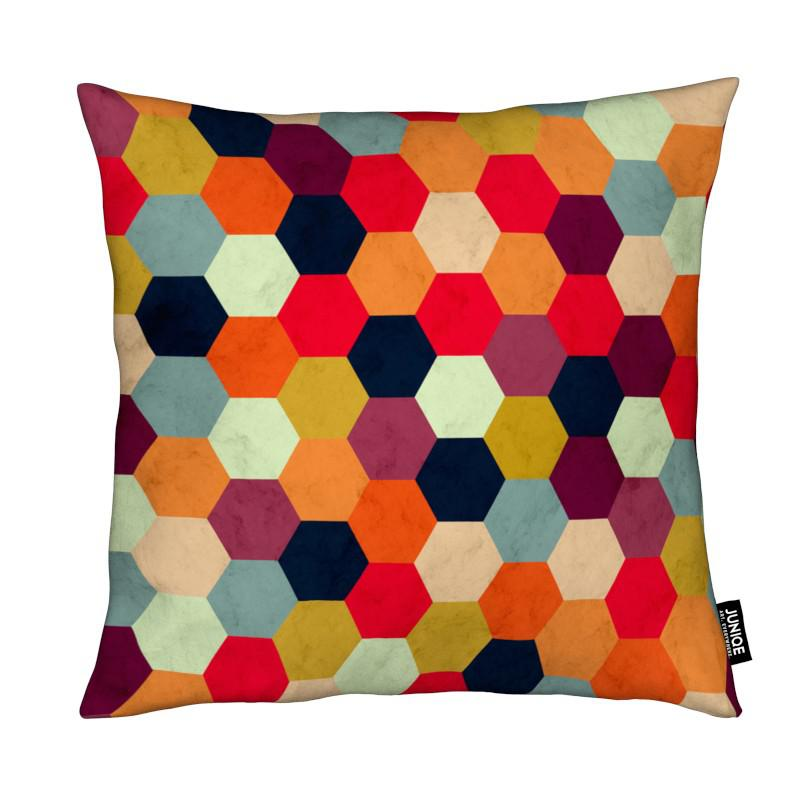 Colorful Beehive Pattern