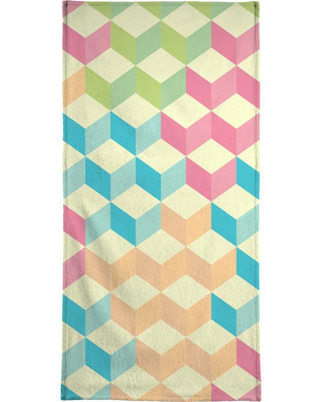 SugarCubes Geometric Pattern -Handtuch