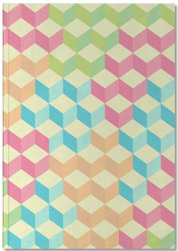SugarCubes Geometric Pattern Notebook