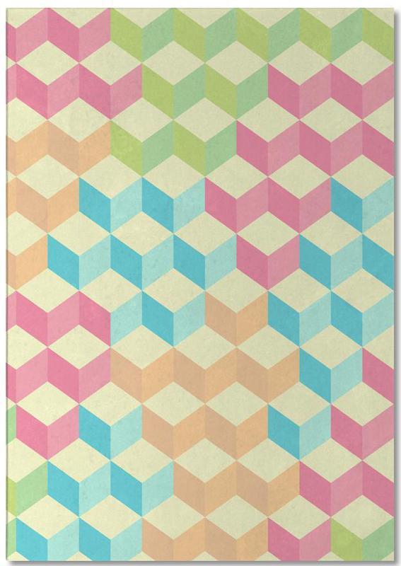 SugarCubes Geometric Pattern Notepad