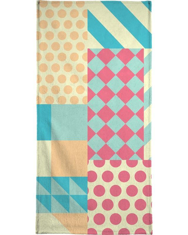 Vintage Patchwork -Handtuch