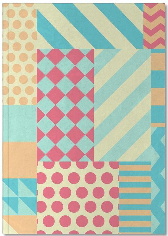 Vintage Patchwork Notebook