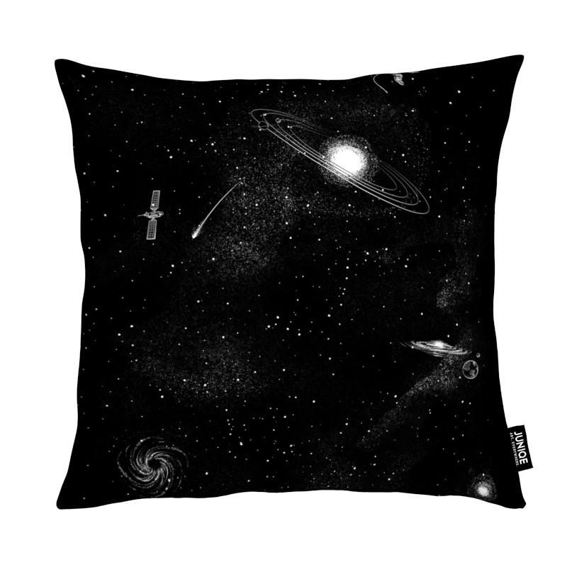 Astronauten, Schwarz & Weiß, Kinderzimmer & Kunst für Kinder, Gravity 3.0
